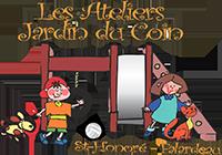 Logo Les ateliers jardin du coin | Ateliers de stimulation pour les 3 à 5 ans
